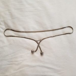 Accessories - Silver Plated Chain Belt